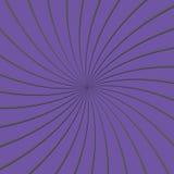 τρισδιάστατος πορφυρός και γκρίζος λεπτός ριγωτός κύκλος Pinwheel Διανυσματική απεικόνιση