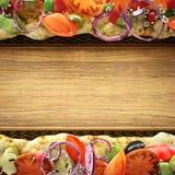 Τρισδιάστατος σύνθεσης συστατικών τροφίμων που διευκρινίζεται Στοκ εικόνες με δικαίωμα ελεύθερης χρήσης