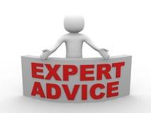 τρισδιάστατος δώστε του ατόμου διαθέσιμου για τη συμβουλή από ειδήμονες. τρισδιάστατη απόδοση της HU διανυσματική απεικόνιση