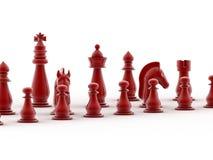 τρισδιάστατος δώστε του σκακιού Στοκ Εικόνα