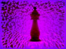 τρισδιάστατος δώστε του σκακιού Στοκ Εικόνες