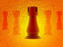 τρισδιάστατος δώστε του σκακιού Στοκ Φωτογραφία