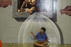 τρισδιάστατο αγόρι Στοκ φωτογραφίες με δικαίωμα ελεύθερης χρήσης