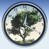 τρισδιάστατο αναλογικό ρολόι Στοκ Εικόνα