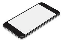 τρισδιάστατο απεικόνισης ρεαλιστικό πρότυπο smartphone προοπτικής μαύρο ελεύθερη απεικόνιση δικαιώματος