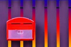 τρισδιάστατο απομονωμένο κιβώτιο αντικείμενο ταχυδρομείου Στοκ εικόνες με δικαίωμα ελεύθερης χρήσης