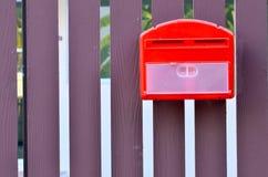 τρισδιάστατο απομονωμένο κιβώτιο αντικείμενο ταχυδρομείου Στοκ Εικόνες
