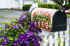τρισδιάστατο απομονωμένο κιβώτιο αντικείμενο ταχυδρομείου Στοκ φωτογραφίες με δικαίωμα ελεύθερης χρήσης