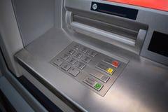 τρισδιάστατο αριθμητικό πληκτρολόγιο εικόνας του ATM που δίνεται Πληκτρολόγιο της αυτοματοποιημένης μηχανής αφηγητών Στοκ Εικόνα