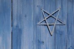 τρισδιάστατο αστέρι απεικόνισης του Δαβίδ Στοκ φωτογραφία με δικαίωμα ελεύθερης χρήσης