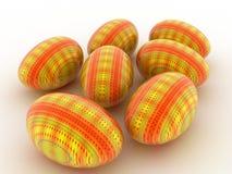 τρισδιάστατο αυγό Πάσχας Στοκ φωτογραφία με δικαίωμα ελεύθερης χρήσης
