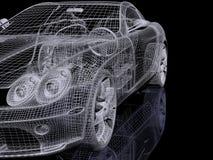 τρισδιάστατο αυτοκίνητ&omicro Στοκ φωτογραφίες με δικαίωμα ελεύθερης χρήσης