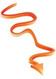 τρισδιάστατο βέλος λαμπ&rh Στοκ εικόνες με δικαίωμα ελεύθερης χρήσης