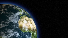 τρισδιάστατο γήινο στη αριστερή πλευρά του πλαισίου/της σφαίρας/του κόσμου ελεύθερη απεικόνιση δικαιώματος