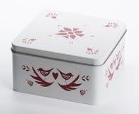 τρισδιάστατο λευκό εικόνας δώρων κιβωτίων Στοκ φωτογραφία με δικαίωμα ελεύθερης χρήσης