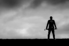 τρισδιάστατο λευκό επιχειρησιακών απομονωμένο εικόνα ατόμων ανασκόπησης Στοκ Εικόνες