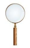 τρισδιάστατο λευκό διάλυσης ενίσχυσης γυαλιού χρυσό υψηλό απομονωμένο εικόνα Στοκ Εικόνες