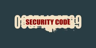 τρισδιάστατο λευκό προστασίας έννοιας απομονωμένο εικόνα Σύστημα ασφαλείας Στοκ φωτογραφίες με δικαίωμα ελεύθερης χρήσης