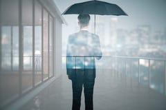 τρισδιάστατο λευκό προστασίας έννοιας απομονωμένο εικόνα Στοκ Εικόνα