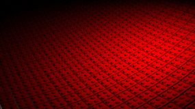 τρισδιάστατο ελάχιστο κόκκινο υπόβαθρο Στοκ φωτογραφίες με δικαίωμα ελεύθερης χρήσης