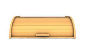 τρισδιάστατο κιβώτιο ψωμιού στο άσπρο υπόβαθρο Στοκ φωτογραφία με δικαίωμα ελεύθερης χρήσης