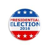 τρισδιάστατο κουμπί αμερικανικής ψηφοφορίας Στοκ Φωτογραφία