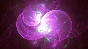τρισδιάστατο παραγμένο αφηρημένο χρωματισμένο φως υπόβαθρο Στοκ Εικόνες