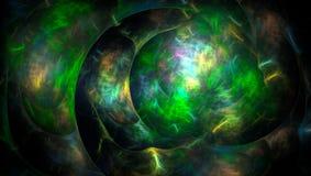 τρισδιάστατο παραγμένο αφηρημένο χρωματισμένο φως υπόβαθρο Στοκ εικόνα με δικαίωμα ελεύθερης χρήσης