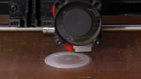 τρισδιάστατο πρωτότυπο εκτύπωσης απόθεμα βίντεο