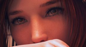 Τρισδιάστατο πρότυπο κοριτσιών Στοκ εικόνες με δικαίωμα ελεύθερης χρήσης