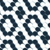 τρισδιάστατο πρότυπο σφαιρών άνευ ραφής Στοκ φωτογραφία με δικαίωμα ελεύθερης χρήσης