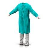 Τρισδιάστατο πρότυπο φορεμάτων χειρούργων στοκ φωτογραφία με δικαίωμα ελεύθερης χρήσης