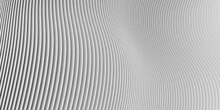 τρισδιάστατο ριγωτό άσπρο υπόβαθρο Στοκ εικόνα με δικαίωμα ελεύθερης χρήσης