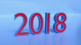 τρισδιάστατο το 2018 ελεύθερη απεικόνιση δικαιώματος