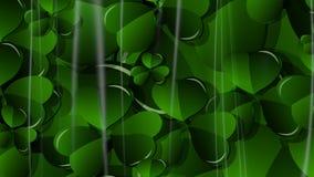 τρισδιάστατο υπόβαθρο ημέρας του ST Πάτρικ ` s απεικόνισης αφηρημένο διανυσματική απεικόνιση
