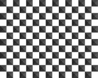 τρισδιάστατο υπόβαθρο πιάτων σκακιού μετάλλων Στοκ Φωτογραφίες