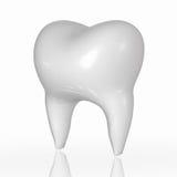 τρισδιάστατο δόντι Στοκ φωτογραφίες με δικαίωμα ελεύθερης χρήσης