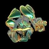 τρισδιάστατο fractal ανασκόπησ&e Στοκ εικόνα με δικαίωμα ελεύθερης χρήσης