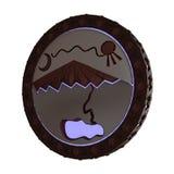 τρισδιάστατο highlanders χειροποίητο αντικείμενο Στοκ εικόνα με δικαίωμα ελεύθερης χρήσης