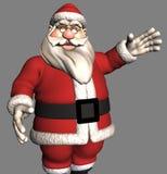 τρισδιάστατο santa Claus Στοκ Εικόνα