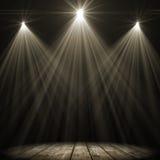 Τριφασικός φωτισμός σημείων διανυσματική απεικόνιση