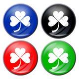 τριφύλλι κουμπιών Στοκ φωτογραφία με δικαίωμα ελεύθερης χρήσης