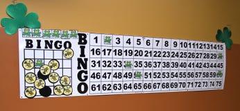 τριφύλλι bingo Στοκ φωτογραφία με δικαίωμα ελεύθερης χρήσης