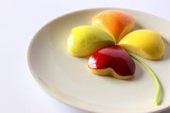 Τριφύλλι μήλων τεσσάρων φύλλων Στοκ φωτογραφία με δικαίωμα ελεύθερης χρήσης