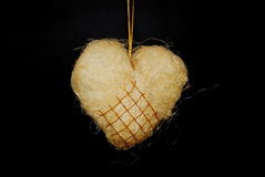τριχωτή καρδιά Στοκ Φωτογραφία