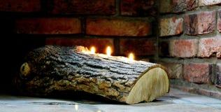 Τρι κερί Στοκ εικόνες με δικαίωμα ελεύθερης χρήσης
