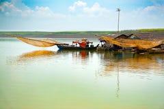 Τρι μια λίμνη, Nai ήχων καμπάνας επαρχία, Βιετνάμ στοκ εικόνες
