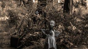 Τρομακτικές κούκλες Στοκ Φωτογραφίες