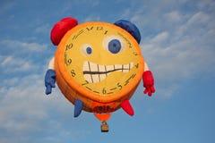 Τρομακτικό μπαλόνι ξυπνητηριών Στοκ φωτογραφία με δικαίωμα ελεύθερης χρήσης