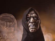 Τρομακτικό στήριγμα Zombie αποκριές Στοκ Φωτογραφία